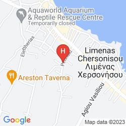 Mapa ADAMAKIS HOTEL