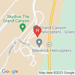 Mapa YAVAPAI LODGE WEST