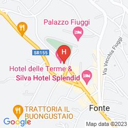 Mapa ALBERGO DELLE TERME