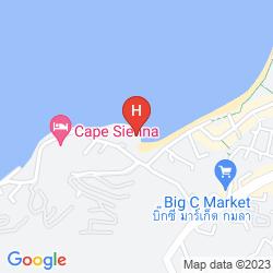 Mapa NOVOTEL PHUKET KAMALA BEACH