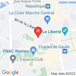 Mapa ANNE DE BRETAGNE