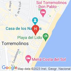 Mapa APARTAMENTOS CANDISOL