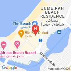 Mapa RODA AMWAJ SUITES