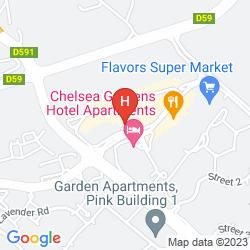 Mapa ZIQOO HOTEL APARTMENT