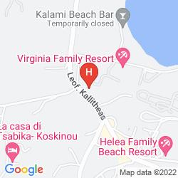 Mapa CASTELLO DI RODI