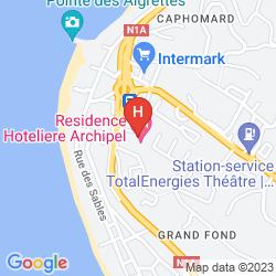 Mapa L'ARCHIPEL