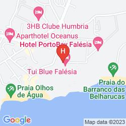 Mapa PALACE ALGARVE