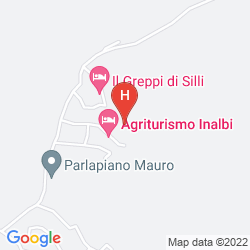 Mapa AGRITURISMO VECCHIO BORGO DI INALBI