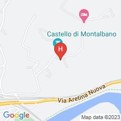 Mapa CASTELLO DI MONTALBANO