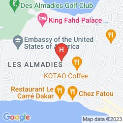 Mapa KING FAHD PALACE
