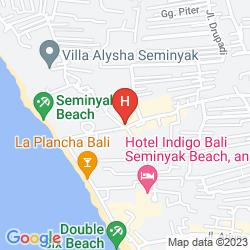 Mapa GRANDMAS HOTELS SEMINYAK
