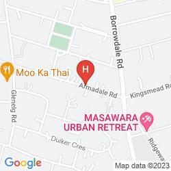 Mapa ARMADALE LODGE