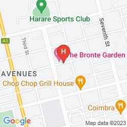 Mapa BRONTE HOTEL