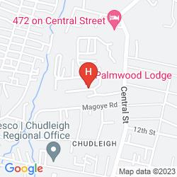 Mapa PALMWOOD LODGE
