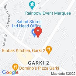 Mapa HAWTHORN SUITES BY WYNDHAM ABUJA