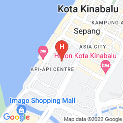 Mapa KK'S MARINA COURT RESORTS CONDOMINIUM