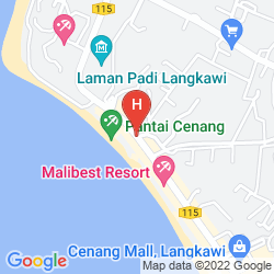 Mapa CENANG REST HOUSE