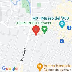 Mapa L' AFFITTACAMERE DI VENEZIA