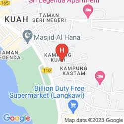 Mapa LANGKAWI SEAVIEW HOTEL