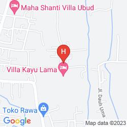 Mapa VILLA KAYU LAMA