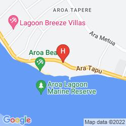 Mapa SANCTUARY RAROTONGA-ON THE BEACH