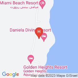 Mapa DANIELA VILLAGE DAHAB