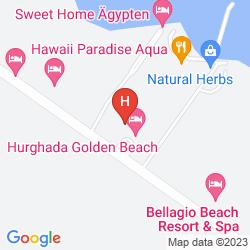 Mapa GOLDEN BEACH RESORT