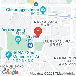 Mapa ALOFT SEOUL GANGNAM