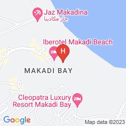 Mapa IBEROTEL MAKADI BEACH