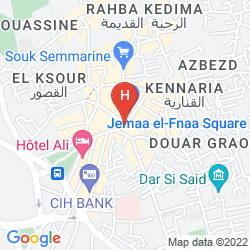 Mapa HOTEL & RYAD ART PLACE MARRAKECH