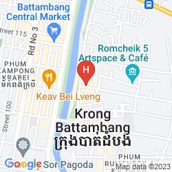 Mapa KING FY HOTEL
