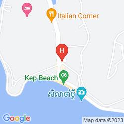 Mapa OCEAN BREEZE HOTEL & SKY BAR