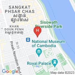 Mapa ANGKOR MITHONA GUESTHOUSE
