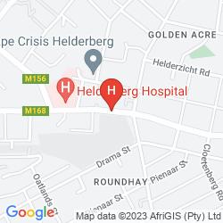 Mapa ALBOURNE GUEST HOUSE