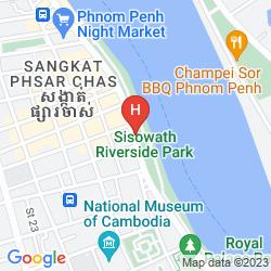 Mapa LE GRAND MEKONG