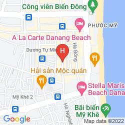 Mapa ATLANTIC DA NANG HOTEL