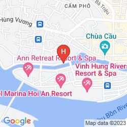 Mapa RIVER SUITES HOI AN HOTEL