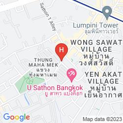 Mapa U SATHORN BANGKOK