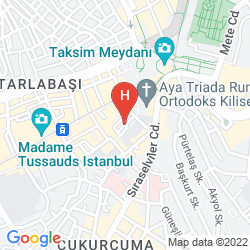 Mapa ALYON SUITE HOTEL ISTIKLAL