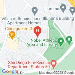 Mapa SUNSHINE SUITES - LA JOLLA
