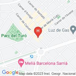 Mapa AINB DIAGONAL FRANCESC MACIÀ APARTMENTS