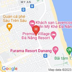Mapa FANSIPAN HOTEL DA NANG