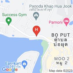 Mapa REUAN THAI VILLAGE SAMUI