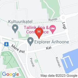 Mapa TALLINK EXPRESS