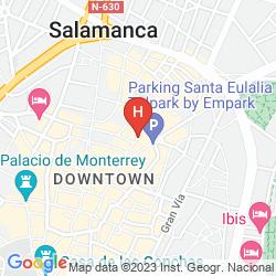 Mapa APARTAMENTOS TORO 33