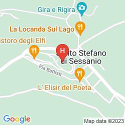 Mapa B&B LA BIFORA E LE LUNE