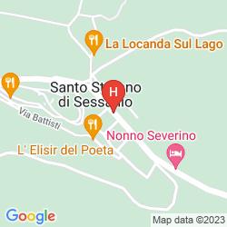 Mapa LA CASA SU LE DIMORE DEL BORGO