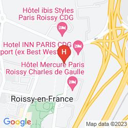 Mapa MILLENNIUM PARIS CHARLES DE GAULLE