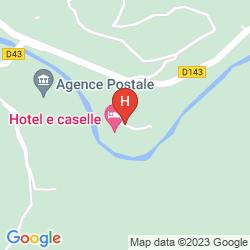 Mapa RESIDENCE PAESOTEL E CASELLE