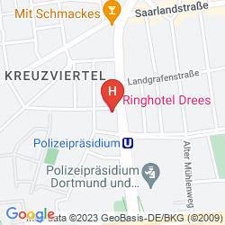 Mapa RINGHOTEL DREES